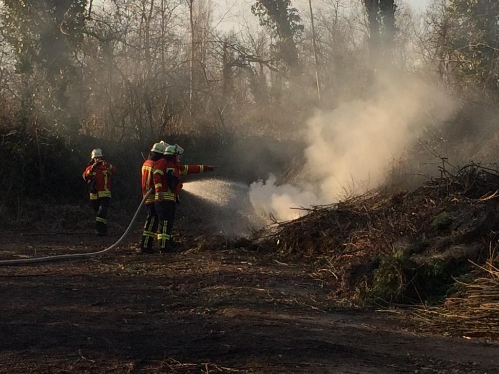 EB7-2015 Flächenbrand an der Kompostieranlage, Bamlach