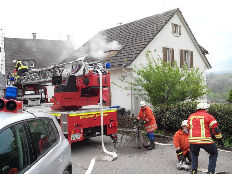 EB15-2015 Überlandhilfe nach Istein, Wohnungsbrand