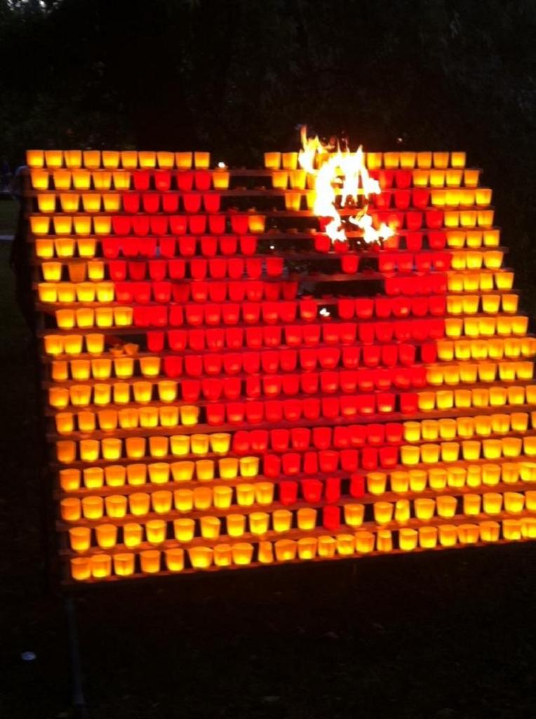 EB36-2015 Verkehrssicherung und Brandwache am Lichterfest